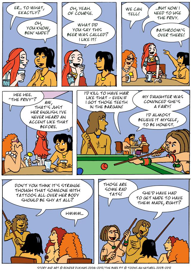 Beer and gossip